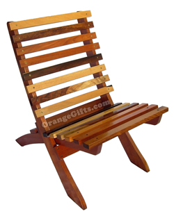 Mixed Hardwood Cayo Chair, Belize gifts, Belize